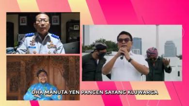 Cegah Pandemi Covid -19, Sejumlah Tokoh Bawakan Lagu RA MUDIK RA POPO