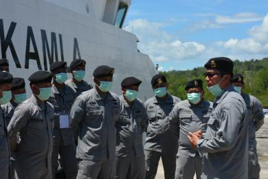 Kamla Zona Maritim Tengah Gelar Latihan On Job Training