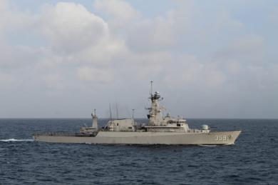 Sinergi pengamanan Laut Natuna, TNI AL dan Bakamla laksanakan latihan bersama