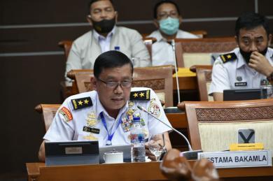 Bakamla RI Siapkan Langkah Strategis Penanganan Covid-19 di Laut