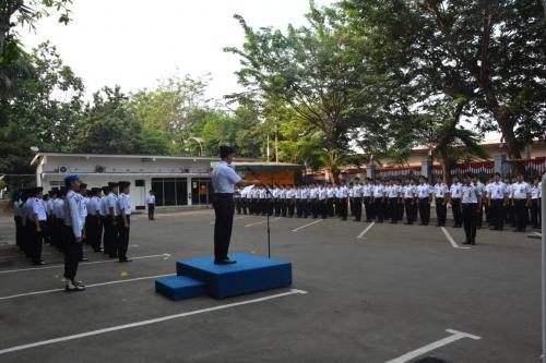 Bakamla RI/IDNCG Peringati HUT Ke-74 Kemerdekaan RI di Gedung Perintis Kemerdekaan
