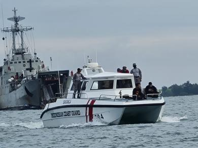 Bakamla RI Kerahkan 5 Kapal dan Ratusan Personel Bantu Pencarian SJ-182