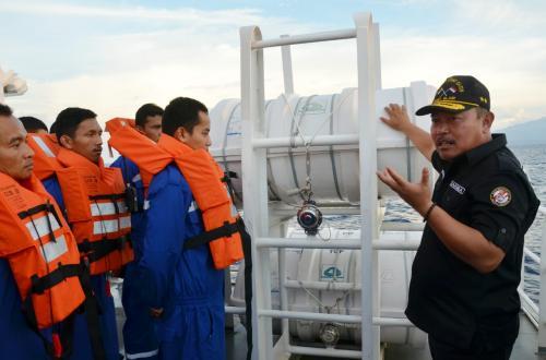Pelayaran Dari India, ABK KN Tanjung Datu-301 Jinakkan Kobaran Api di Perariran Malaka