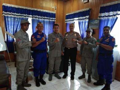 Pertajam Sinergitas, Kepala Kamla Zona Timur Bertemu Dirpolair Maluku