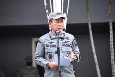 Kepala Bakamla RI Apresiasi Dedikasi Kinerja Personel