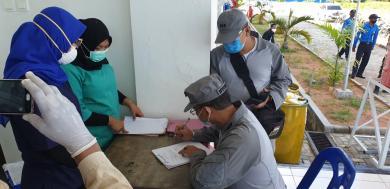 Bakamla RI Kembali Berhasil Amankan 19 PMI ilegal di Perairan Tanjung Sauh Batam