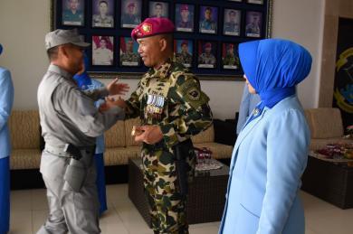 Kepala Bakamla RI  Hadiri HUT Ke-74 Korps Marinir