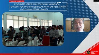 UNIVERSITAS ISLAM JAKARTA DIDIKUNG FRI DAN KEMENKO PMK GELAR WORKSHOP GNRM
