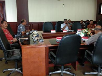 Kamla Zona Maritim Timur Bersama Pemerintah Maluku Susun Kontingensi Ancaman Virus Corona