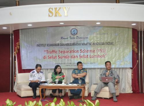 Peran Bakamla Pada  Traffic Separation Scheme Selat Sunda dan Lombok