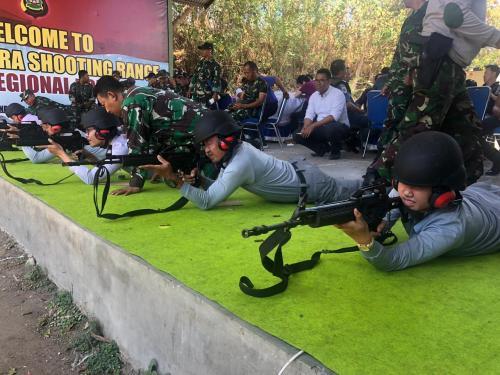 SPKKL Bali Ikuti Latihan Menembak Eksekutif