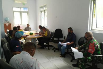 SPKKL Ambon Terima Kunjungan Pejabat Desa dan Aparat Penegak Hukum Latuhalat