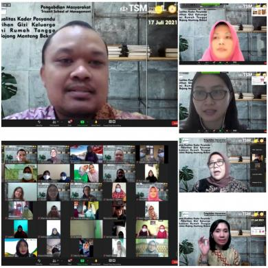 Pengabdian Masyarakat, TSM Gelar Pelatihan Gizi Keluarga dan Ekonomi Rumah Tangga