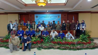 Edi Kuswanto Kembali Pimpin Koordinatoriat PWI Jakarta Selatan Periode 2021-2024