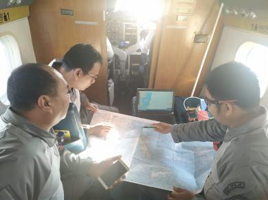 Operasi Udara Maritim Bakamla RI Pantau Perairan Indonesia Tengah