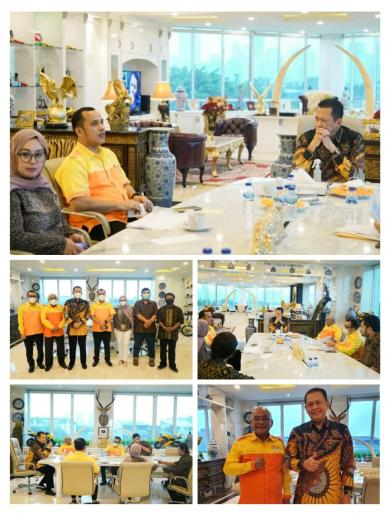 Audiensi Kosgoro57 DKI Dengan Ketua MPR RI