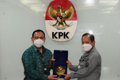 Kepala Bakamla RI  Courtesy Call ke KPK