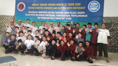 DPP INSANO Bekali Santri Di Ponpes Husnul Khotimah Cianjur