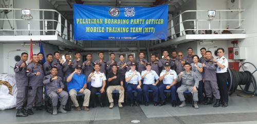 Latihan Boarding Party Officer, USCG Apresiasi Semangat Bakamla